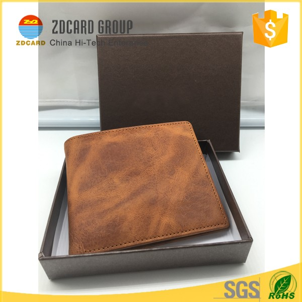 Imperial RFID Blocking Crazy Horse Leather Wallet