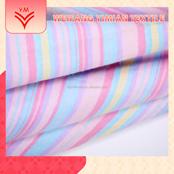Discount Wholesale Polyester Stripe Printed Bedding Fabric