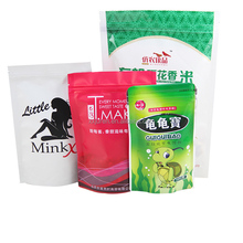 Stand Up Pet Food Plastic Bag / Stand Up Dog Food Bag