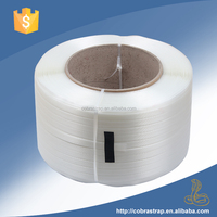 JSB-01 white high tensile strong pulling force pp strapping roll