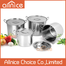4 pcs soup container big size large cooking pots for sale/stainless steel ice bucket/stainless steel bucket