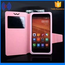 Mobile Phone Universal Silicon 4.5 Inch Leather Case
