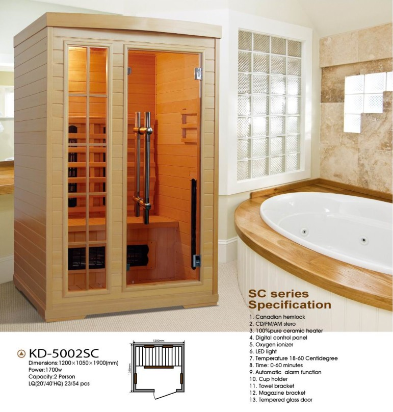 KD-5002SC Home Steam Sauna Room Kits