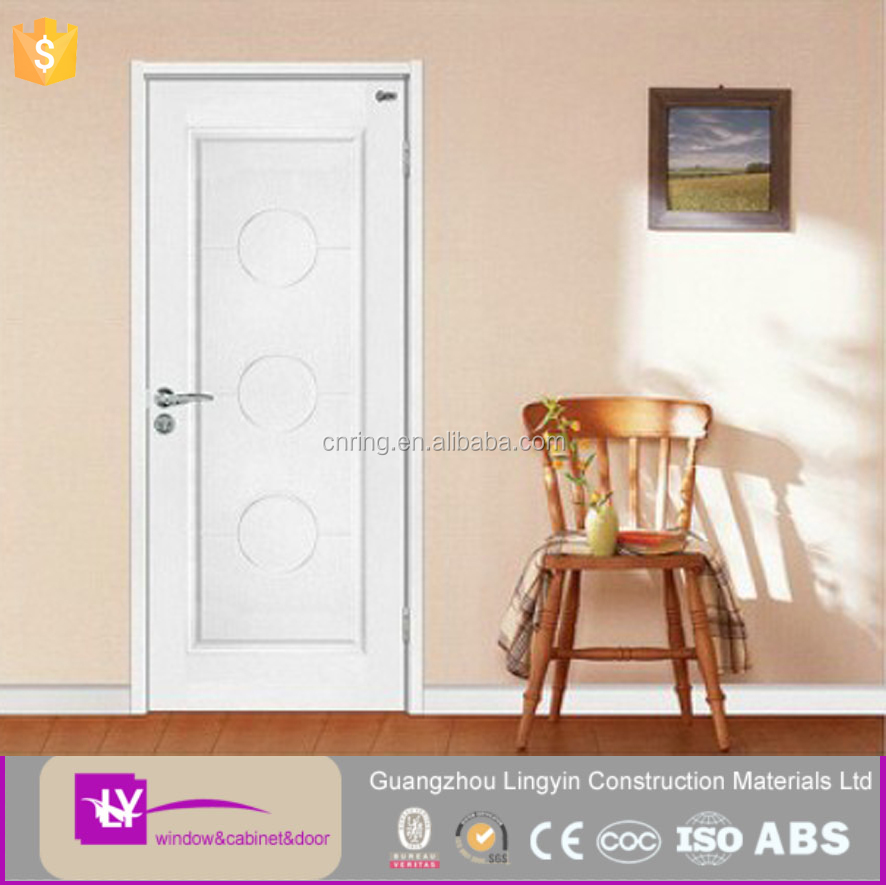 cheap simple design interrior wood door