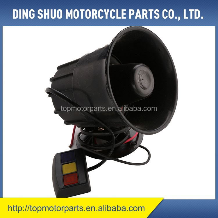 Hot promotion simple design loud motorcycle horn on sale