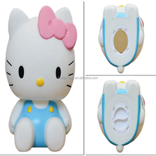 Super cute High Quality holle kitty figure money saving box, vinyl piggy bank,coin bank for kids