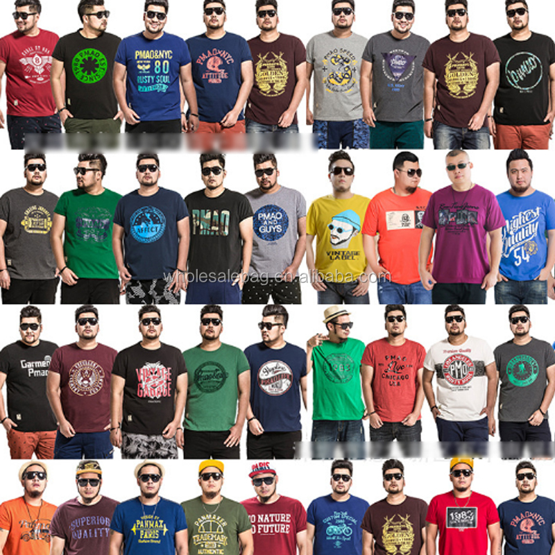 In Stock Branded Blank Hip Hop Men's Clothing, Loose Polo T Shirts