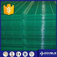 Galvanized Fence 6 Gauge Framed PVC Welded Wire Mesh Panel