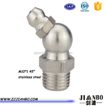 metric standard grease fitting with M10*1