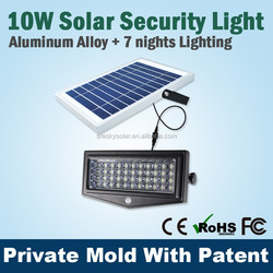 Wall Mounted Led Light Solar Panel,Outdoor Led Flood Light