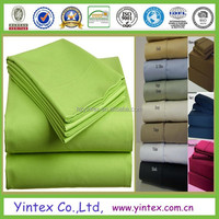 wholesale microfiber polyester bamboo cotton flat sheets