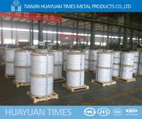 5mm hot dipped galvanized steel and iron wire for cable/fence/mesh/construction(20 years factory in Tianjin)