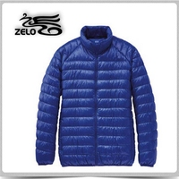 high quality ultra thin foldable sports down jacket