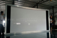 3D curved fixed frame screen