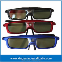 Top Quality Lightweight Rechargeable DLP link 3D Glasses for TV and 3D Projector