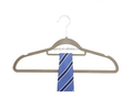 Hgh Quality Velvet Clothes Hanger with U Notches and Tie Bar
