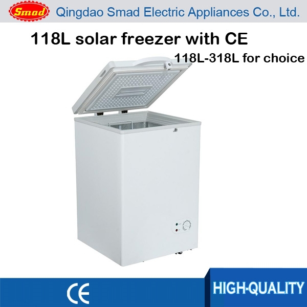 solar powered deep freezer ice cream freezer chest freezer