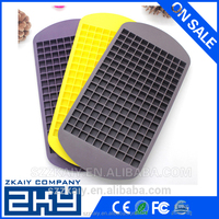 fancy Eco-friendly 160 Cavity Custom Silicone Ice Cube Tray molds shaped ice cube tray