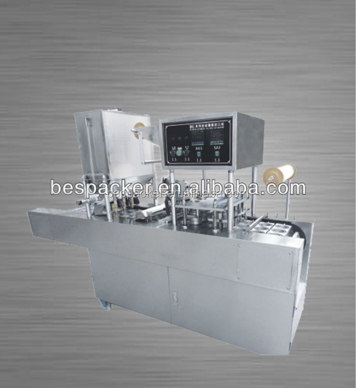 tomato paste sealing packing machine for cup