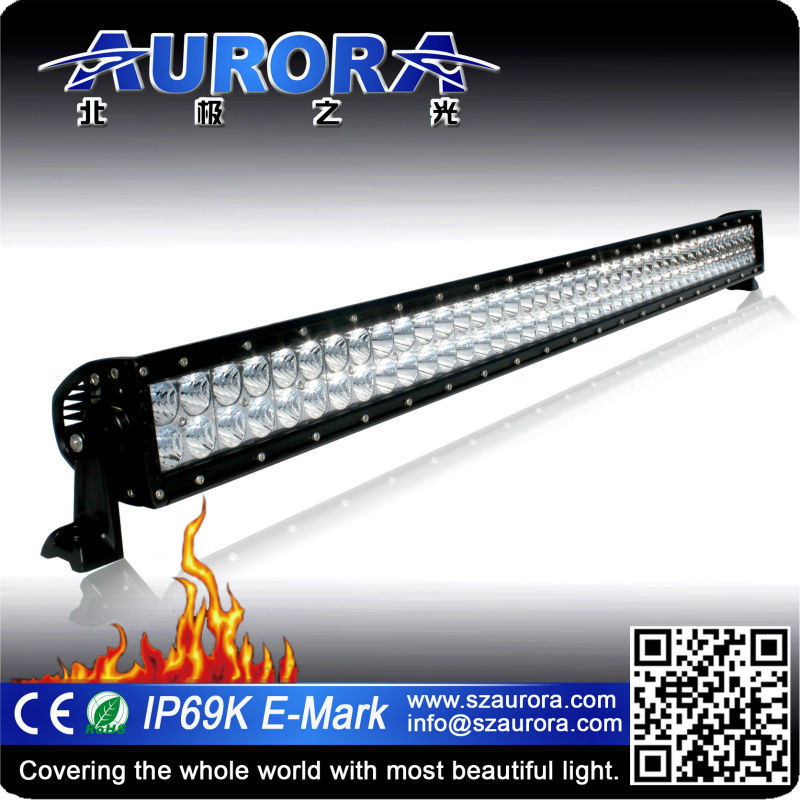 "Aurora super brightness 40"" double row light led truck work lights"