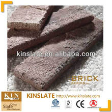 beige artificial brick for walling decorative