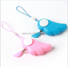 Cute Self Defense Device Protection Alarm Male Wolf Anti-Rape Anti-Attack Urgent Emergency Panic Safety