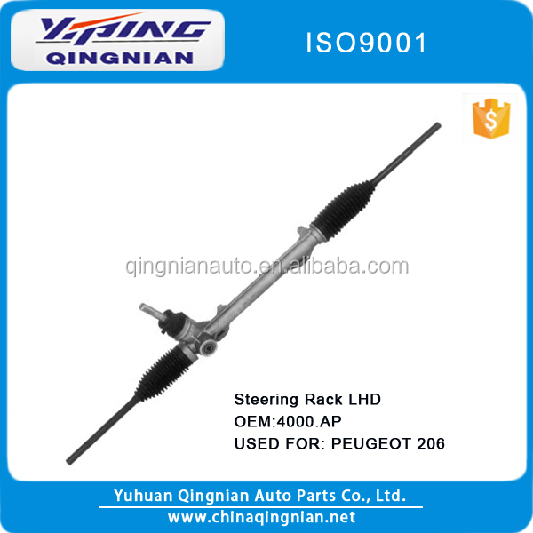 Manual Steering Rack for PEUGEOT 206 OEM:4000.AP