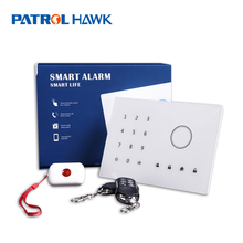 alarm system wireless GSM alarm with touch screen keypad Modify zone name as you like