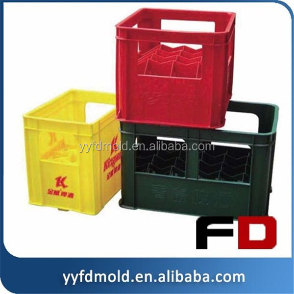 manufactruing beer bottle crates plastic injection mould,beer box mould