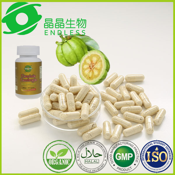 natural garcinia cambogia capsules GMP certificated slimming products