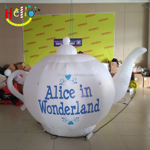 Hot-sale promotional advertising inflatable teapot replica