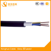 Low Voltage PVC Sheath XLPE Insulated Power Extension Cables 0.6/1kV
