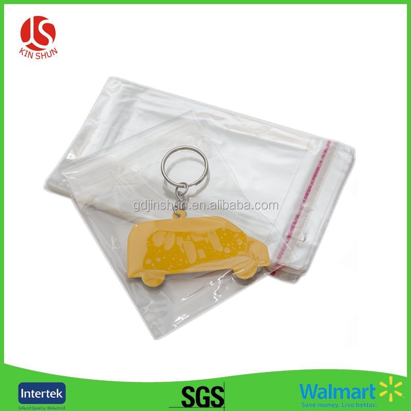 Reclosable Clear Earrings Jewelry Plastic Ziplock Bags