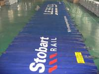 custom printed tarps , advertising printing tarp