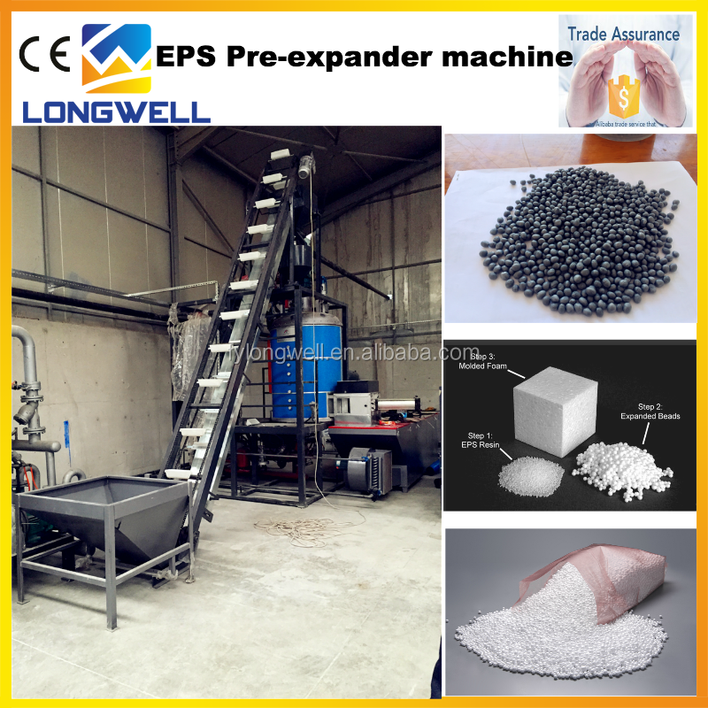 Gold Supplier For Good EPS Machine Making Polystyrene Beads Price