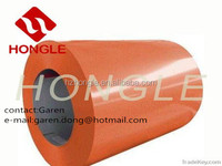 Hangzhou Hongle ppgl/prepainted galvanized steel coil/sheets/ppgi