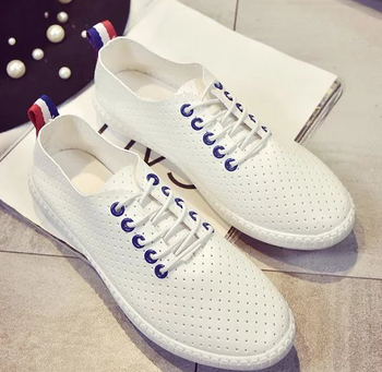 2016 Comfortable light shoes white Canvas shoes