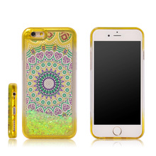 Veaqee New design TPU incoming liquid case call flash light up led phone case with cheap price