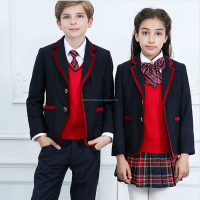 Latest Design School Unisex Stylish Kids School Uniform Blazer