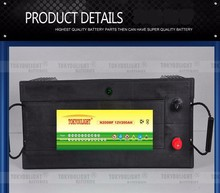 High Quality JIS Standard N200MF Deep Cycle battery charger 12v 200ah lead acid batteries