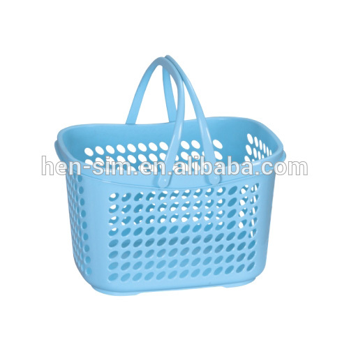 Rotational moulding plastic basket with handle injection mould maker