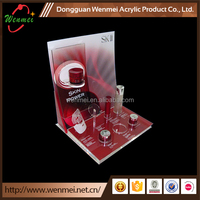 counter top acrylic cosmetic display