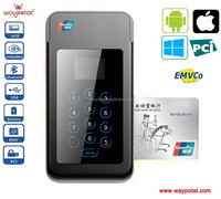 mini credit card reader with NFC Pinpad