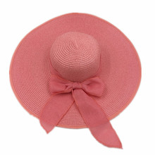 cusom brand Fashion custom women's beach floppy lady hat