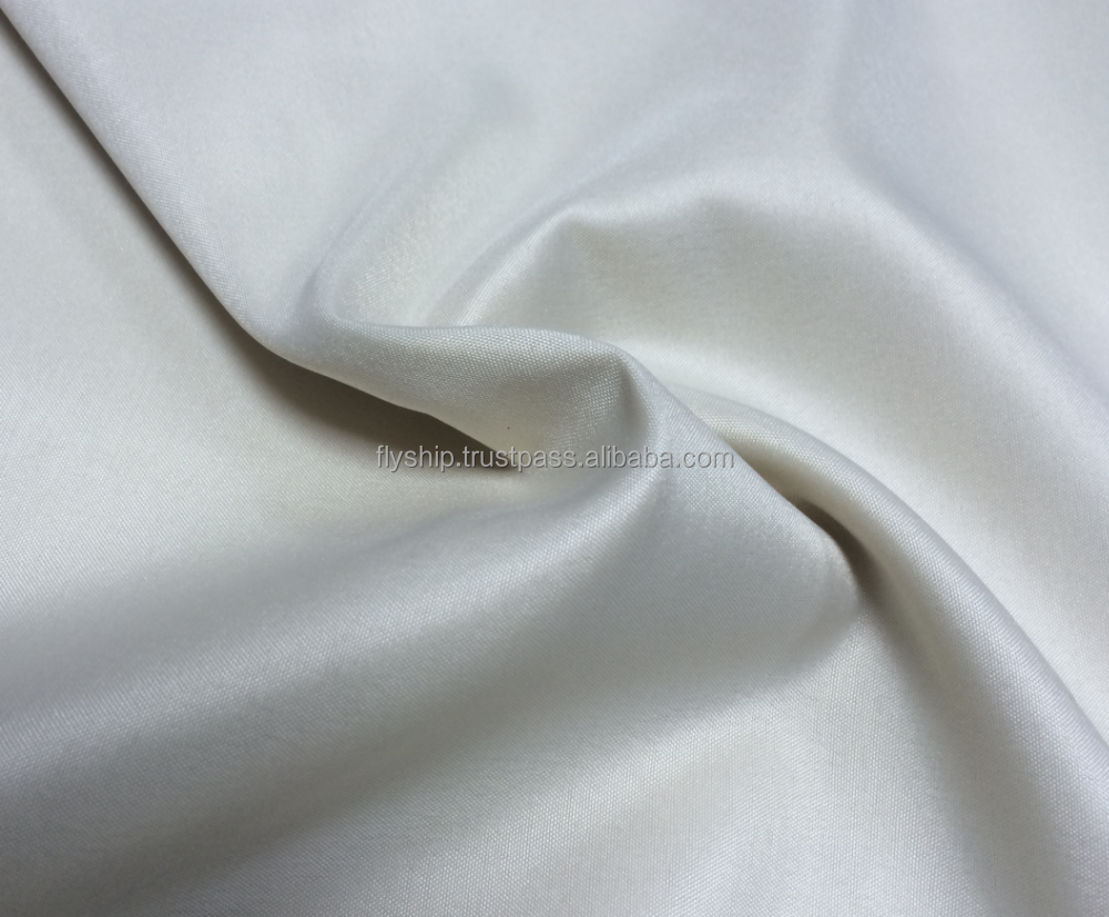 cotton woven plain dyed bed sheet fabric for hotel and hospital