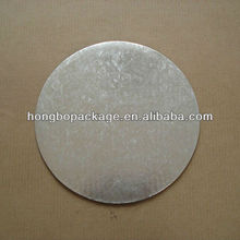 Round Silver Foil Paper Cake Circle