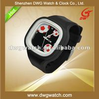 Square Jelly Silicone Sports Unisex Watch with China Movement DWG--R0020