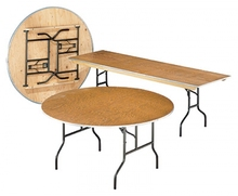 Rent Plywood Folding Table