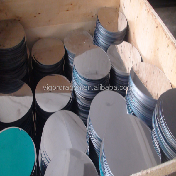 Aisi 410 430 BA finished circle stainless steel scrap price