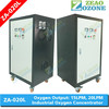 Fish pond oxygen generator / o2 concentrator 20LPM / oxygen making machine